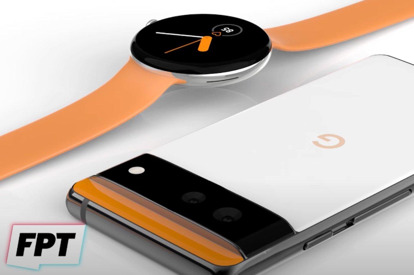 Google Pixel 6 et Pixel Watch