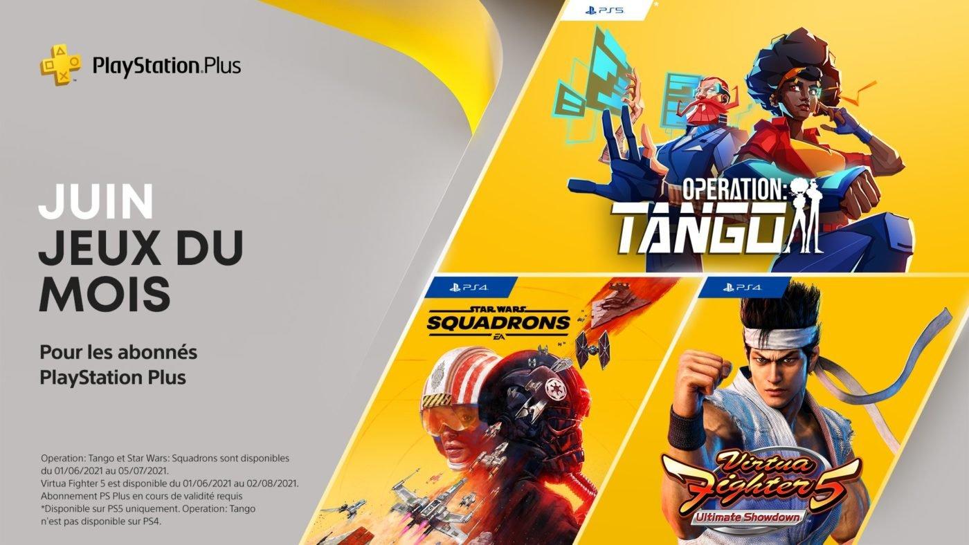 Sony PlayStation Plus Juin 2021