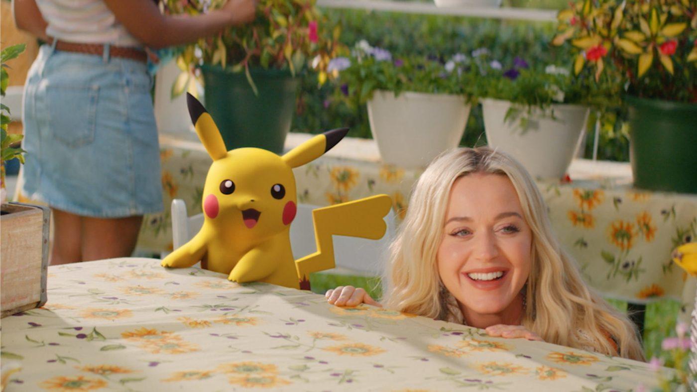 Katy Perry Electric pokémon anniversaire