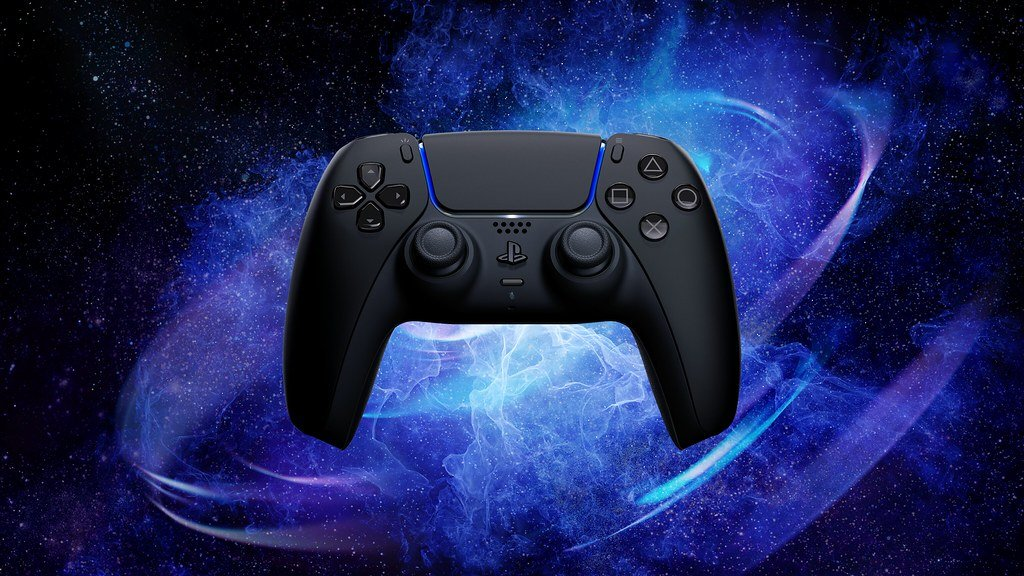 Midnight Black manette DualSense PS5 Sony