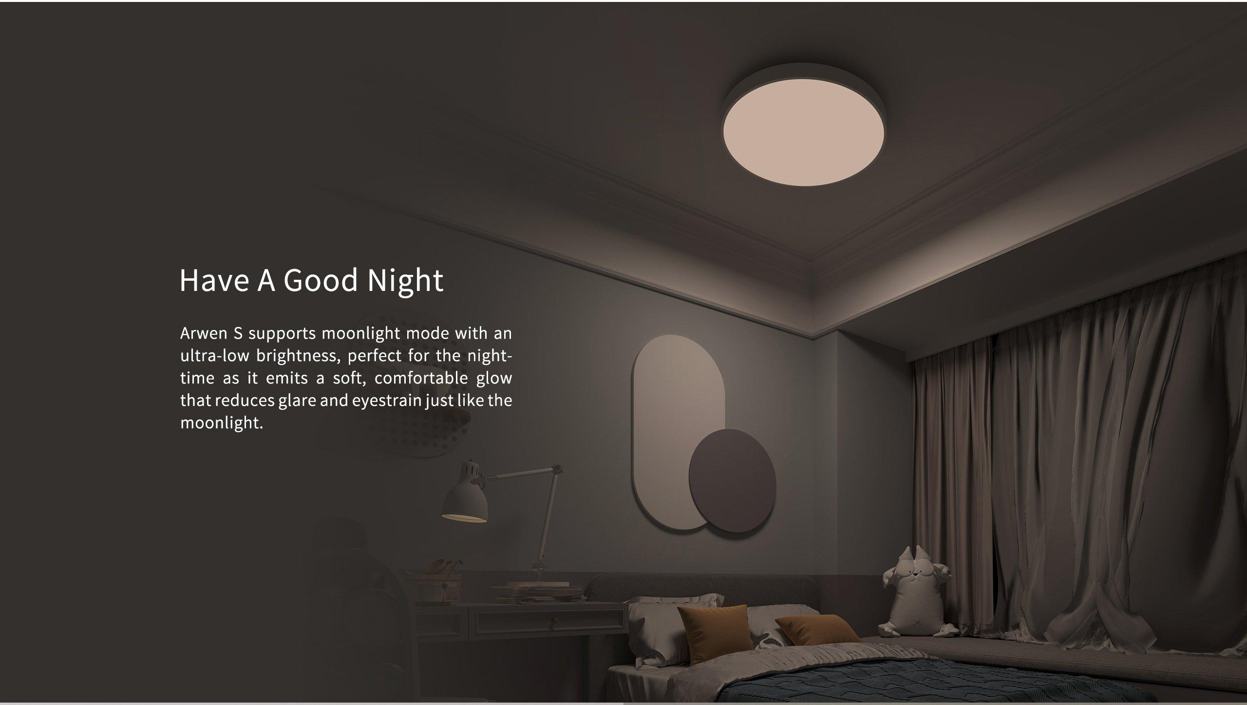 Mode nuit Yeelight Arwen Smart LED