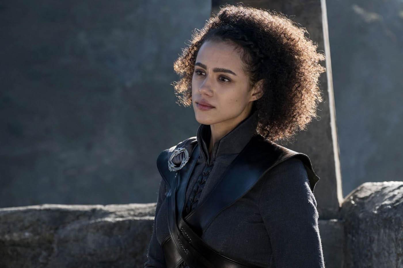 Natalie Emmanuel dans la série Game of Thrones