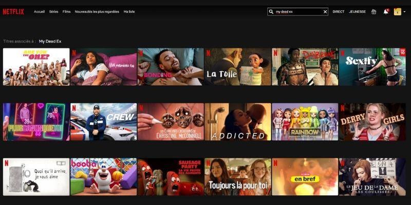 Netflix avec Mullvad VPN