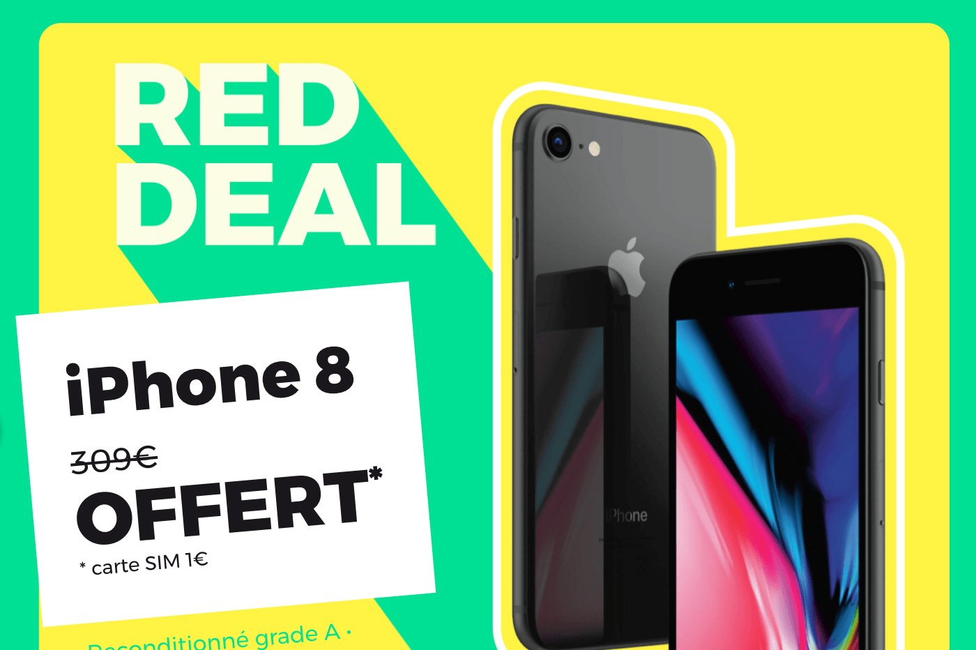 RED deal iPhone 8 RED by SFR