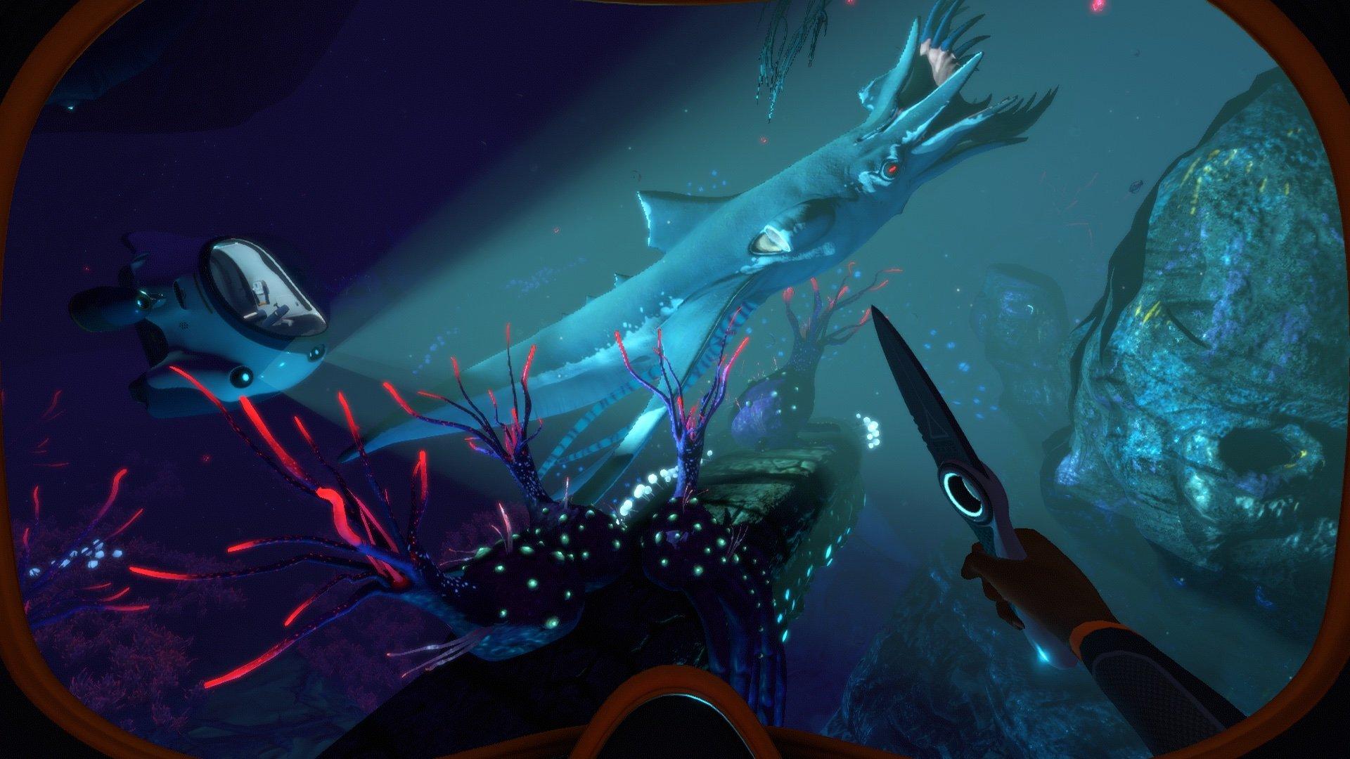 Subnautica Below Zero Requin