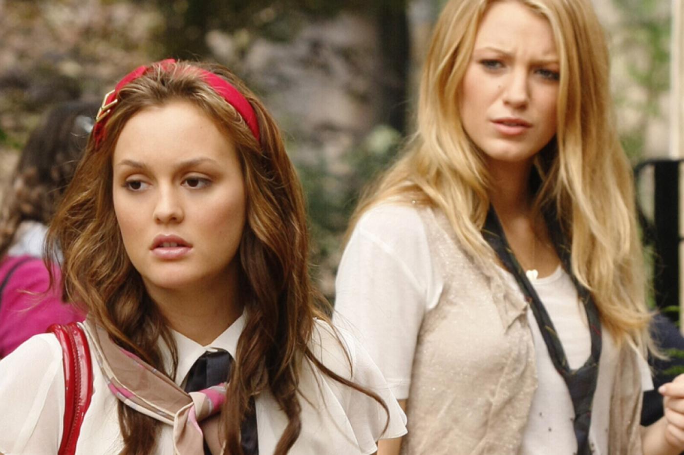Blair et Serena dans Gossip Girl (2007)