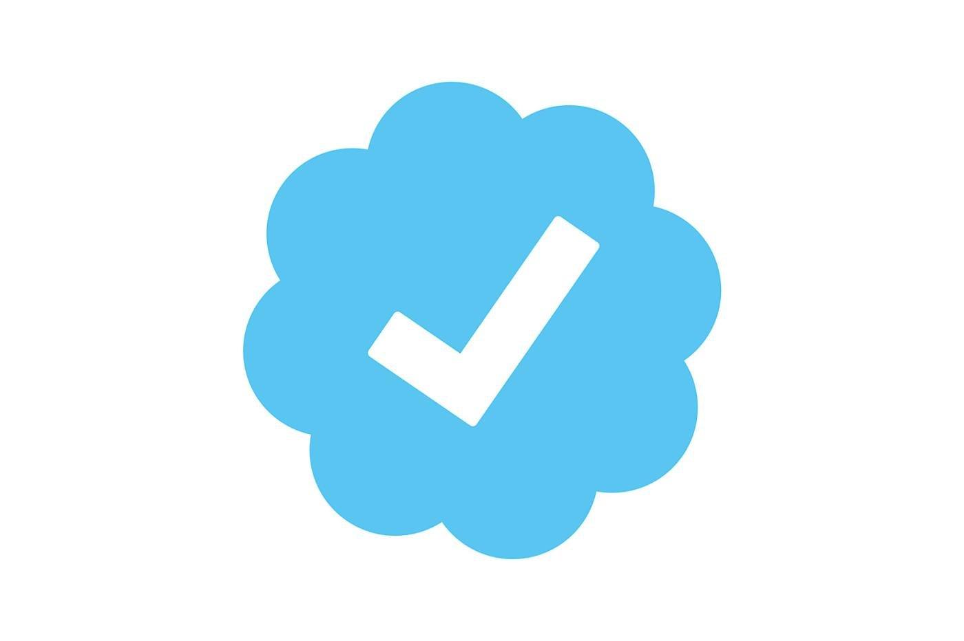 Logo certifié sur Twitter
