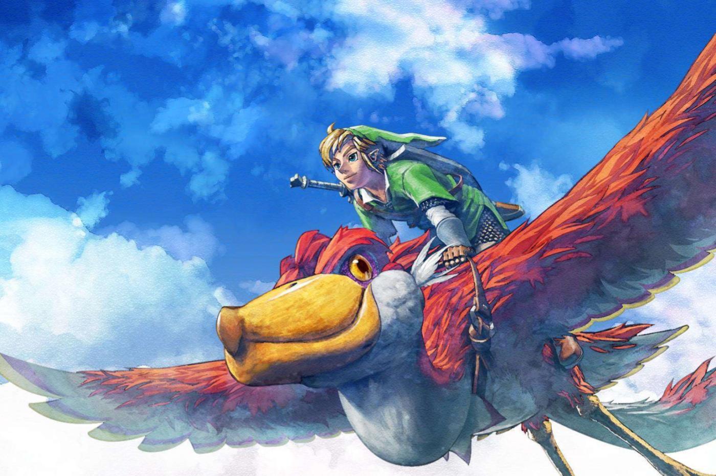 Link dans Zelda Skyward Sword