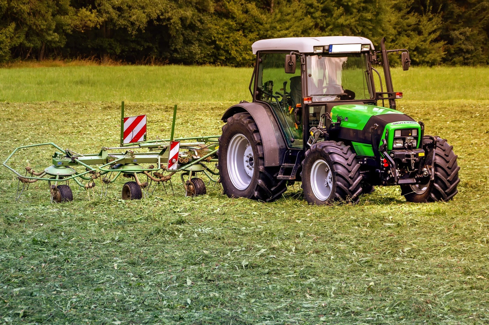 Tractors are now controlled from a smartphone or console using GPS.