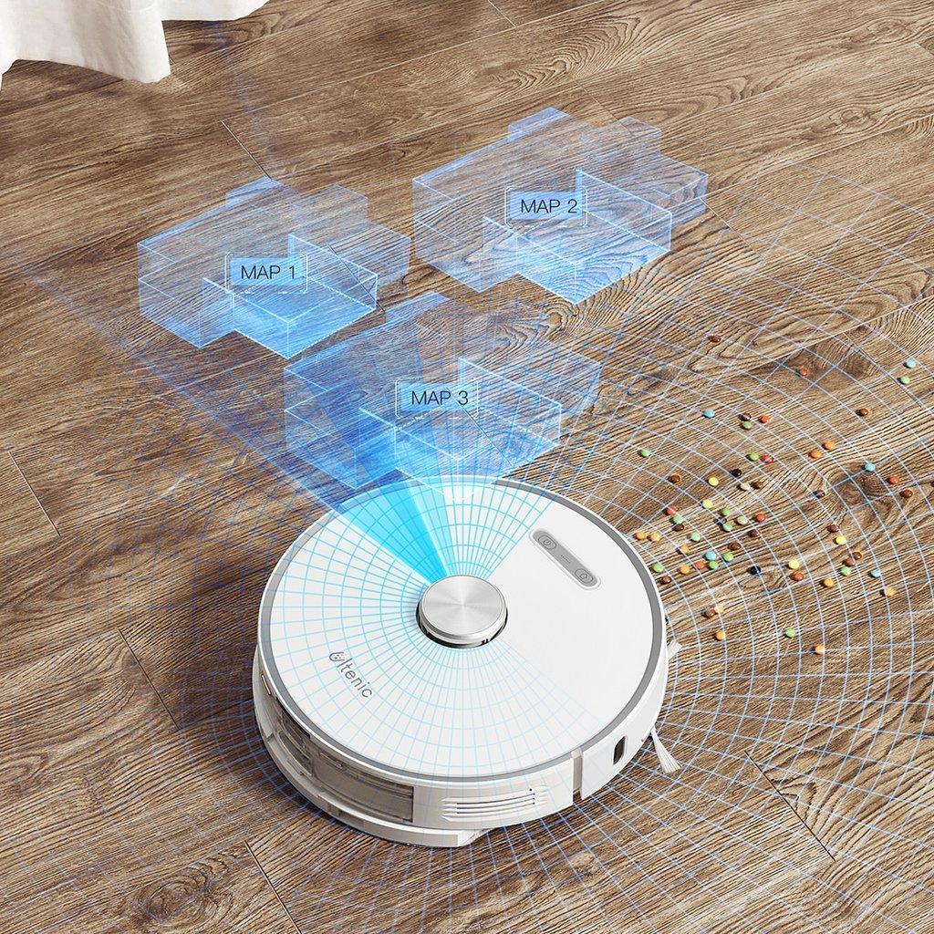 L'UltenicT10 est capable d'enregistrer plusieurs étages d'une maison.