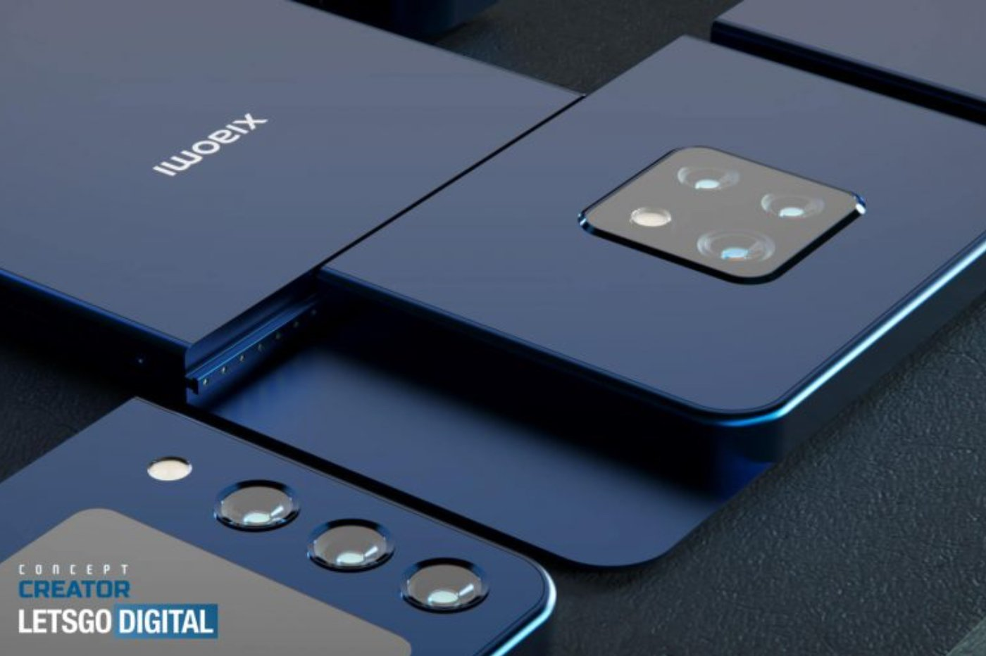Xiaomi Smartphone Modulaire Concept