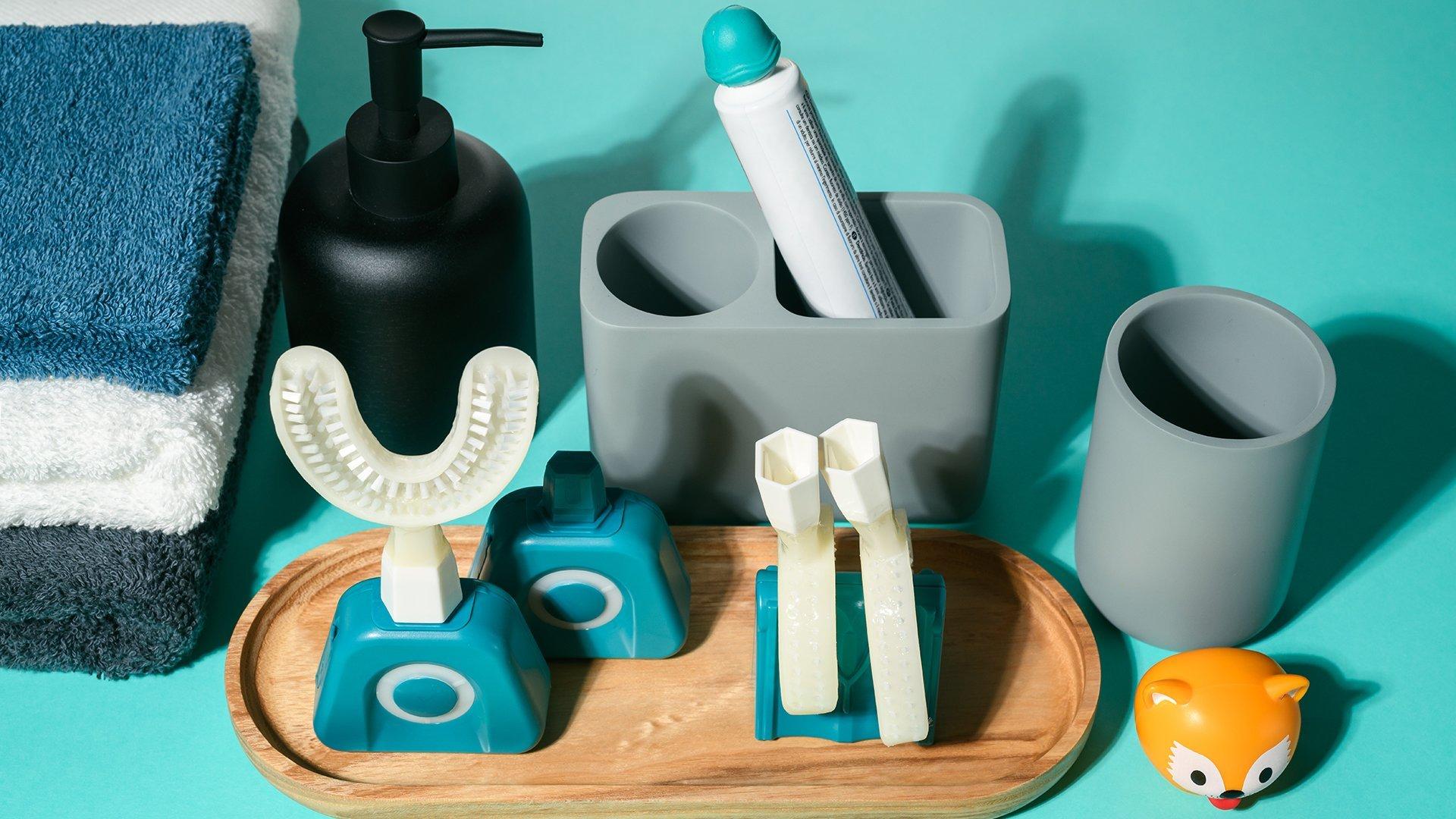 La brosse à dents Y-Brush peut également s'accompagner de plusieurs accessoires qui sont également en promotion à -15% sur le site pendant les French Days.