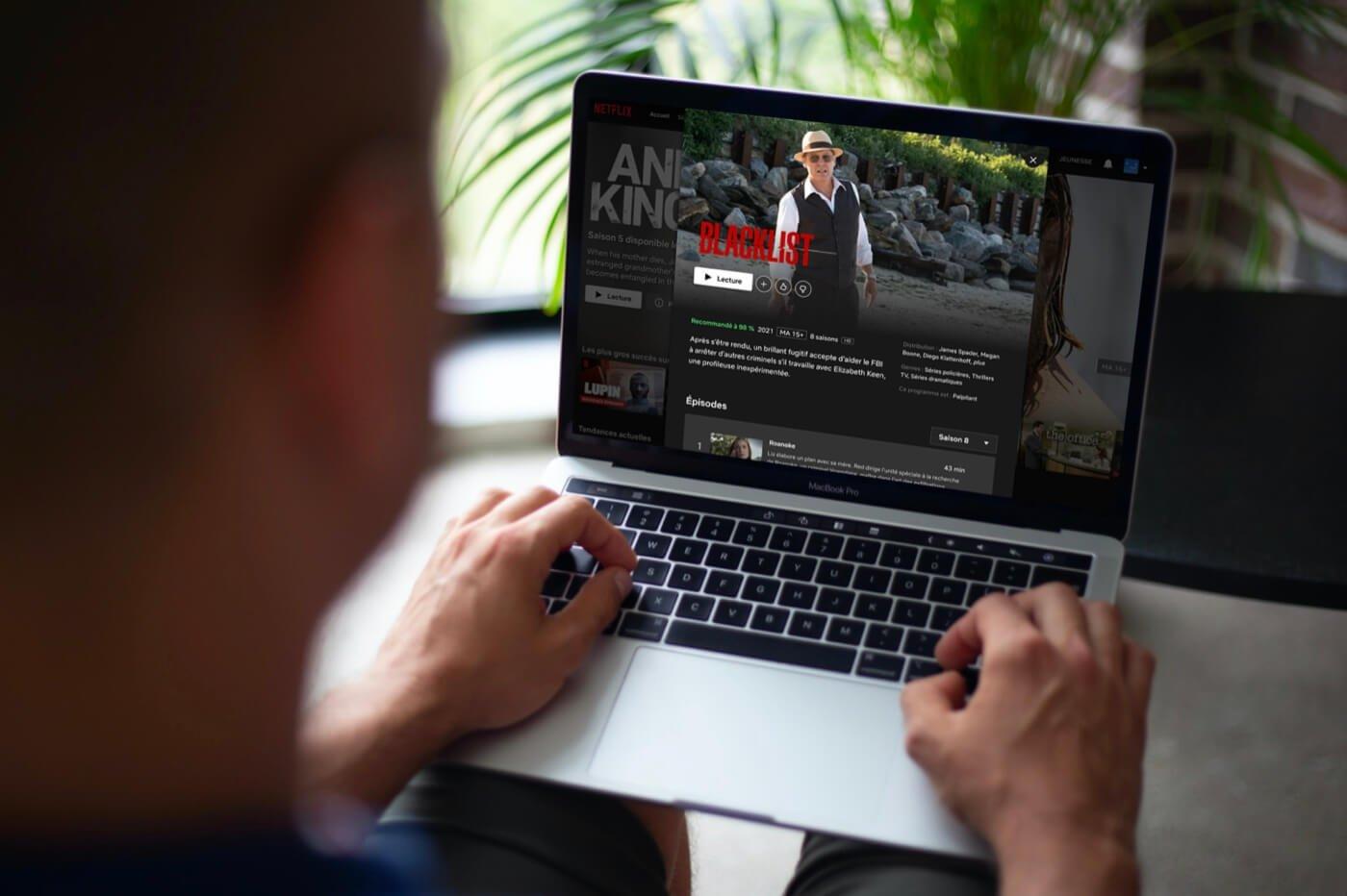 Blacklist saison 7 saison 8 Netflix