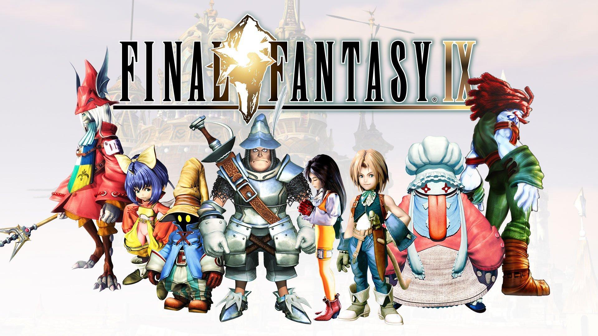 Final Fantasy 9 Square Enix