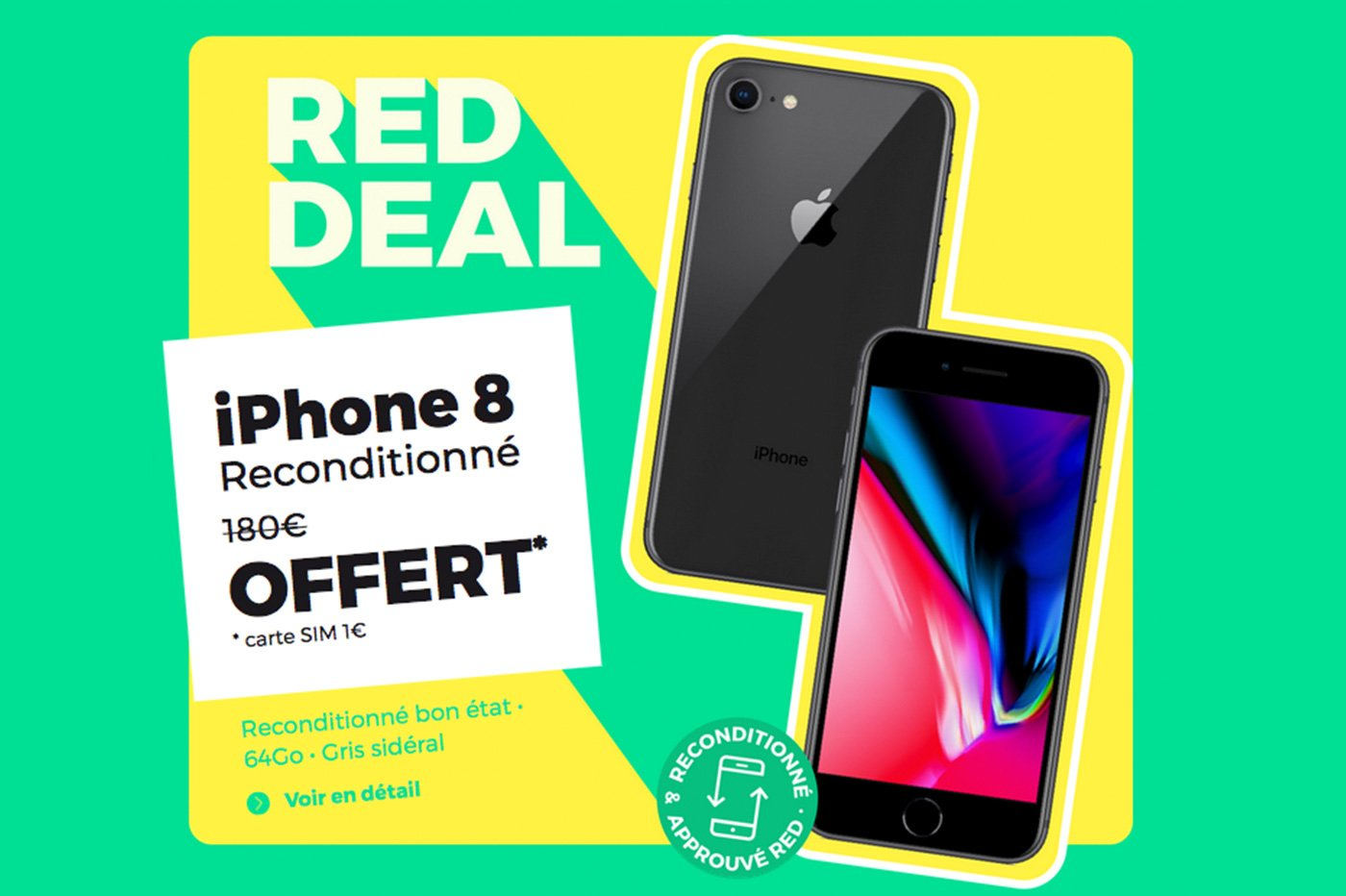 Forfait mobile RED by SFR RED Deal