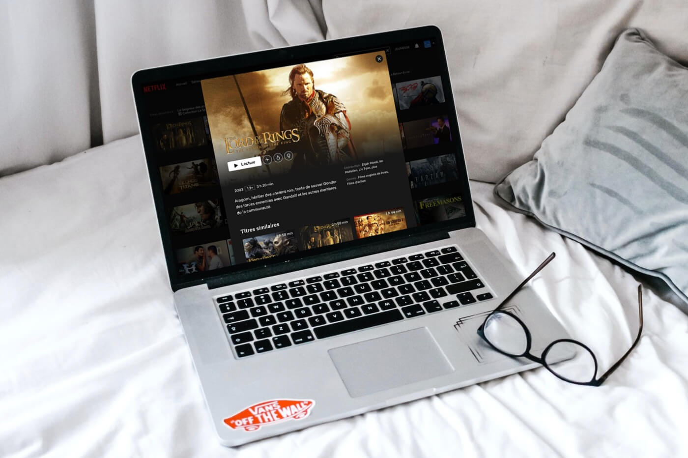 Le Seigneur des Anneaux Netflix France