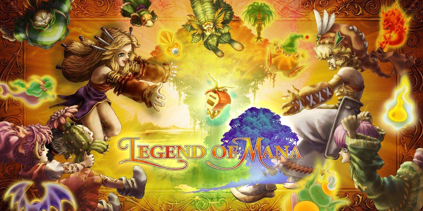 Legend of Mana Square Enix