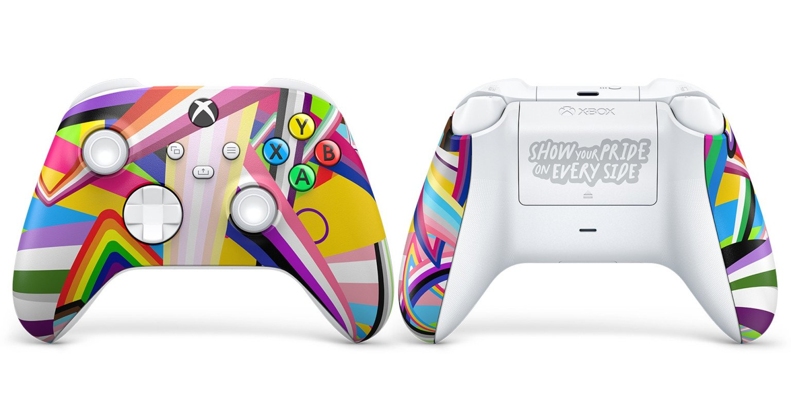 Manette Mois des Fiertés Microsoft Xbox