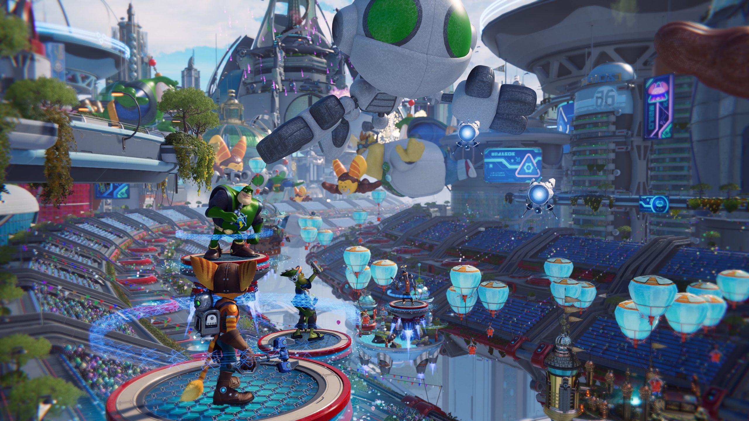Ratchet Clank Rift Apart Monde