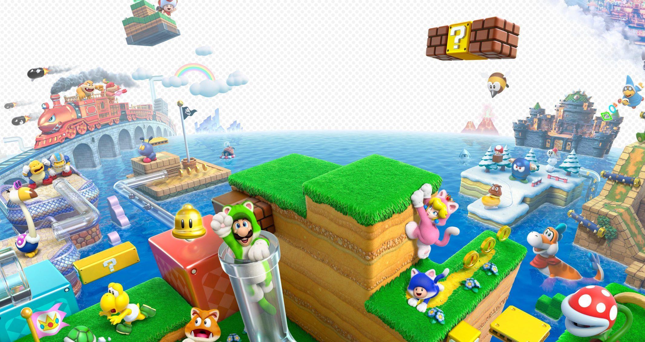 Super Mario 3D World Nintendo Switch