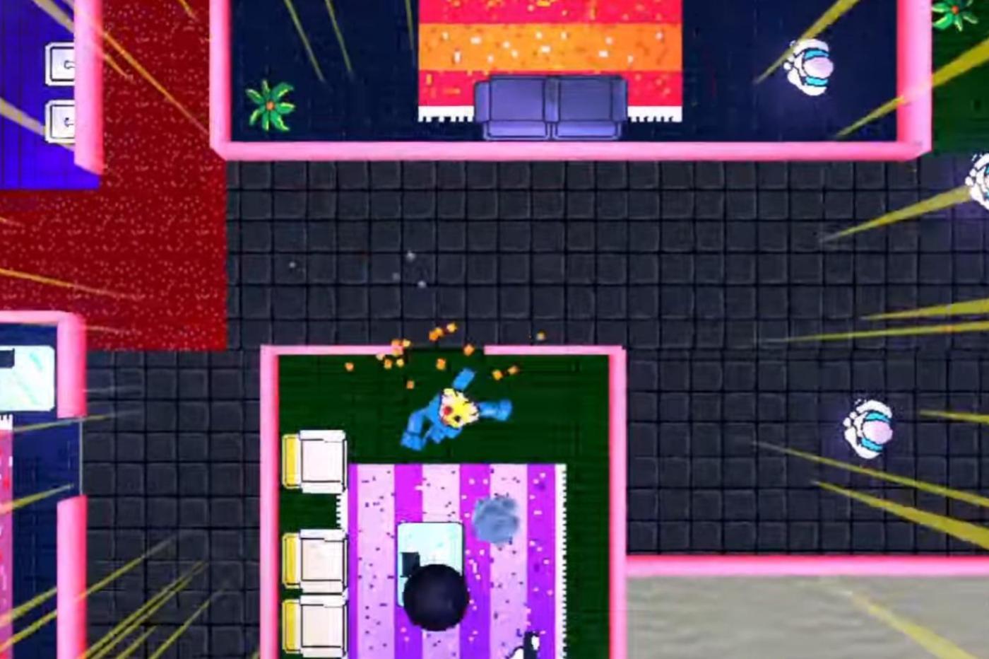Hotline Miami Atelier du jeu video