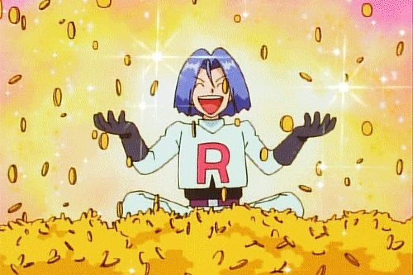 James riche dans Pokémon l'anime