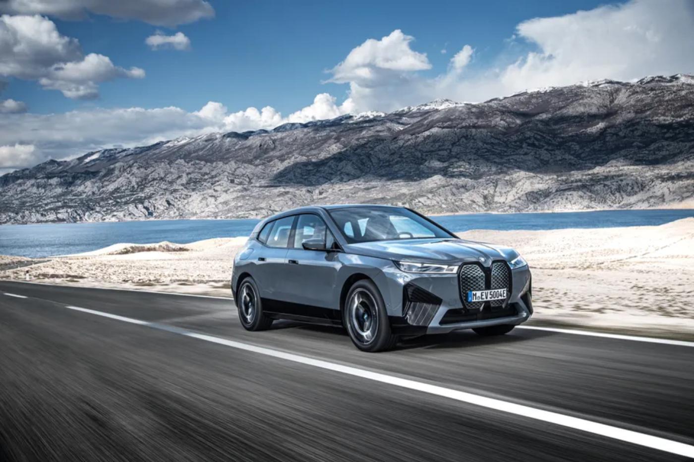 Le SUV BMW iX 100% électrique