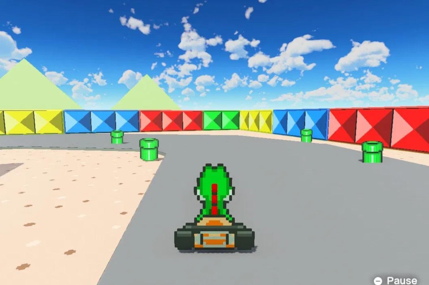 Mario Kart sur L'Atelier du jeu vidéo