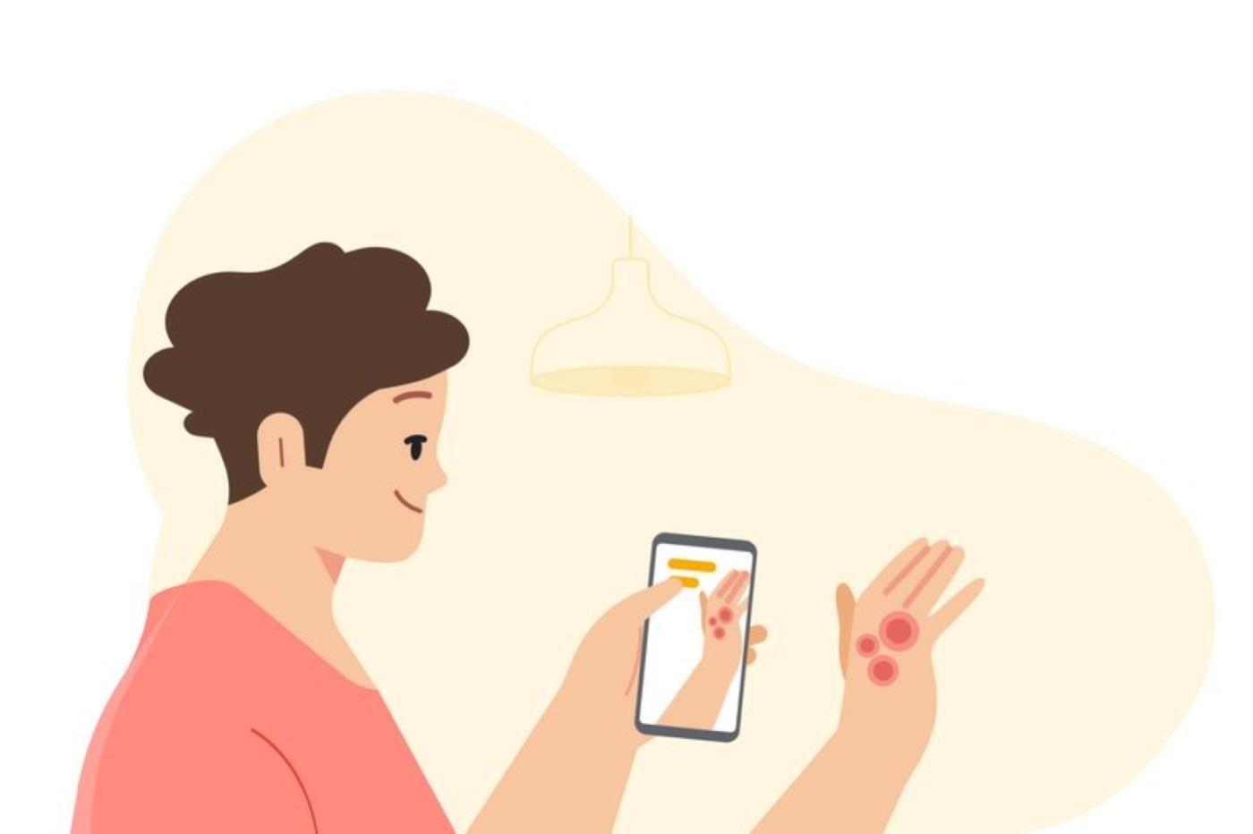 Application Google contre les problèmes de peau