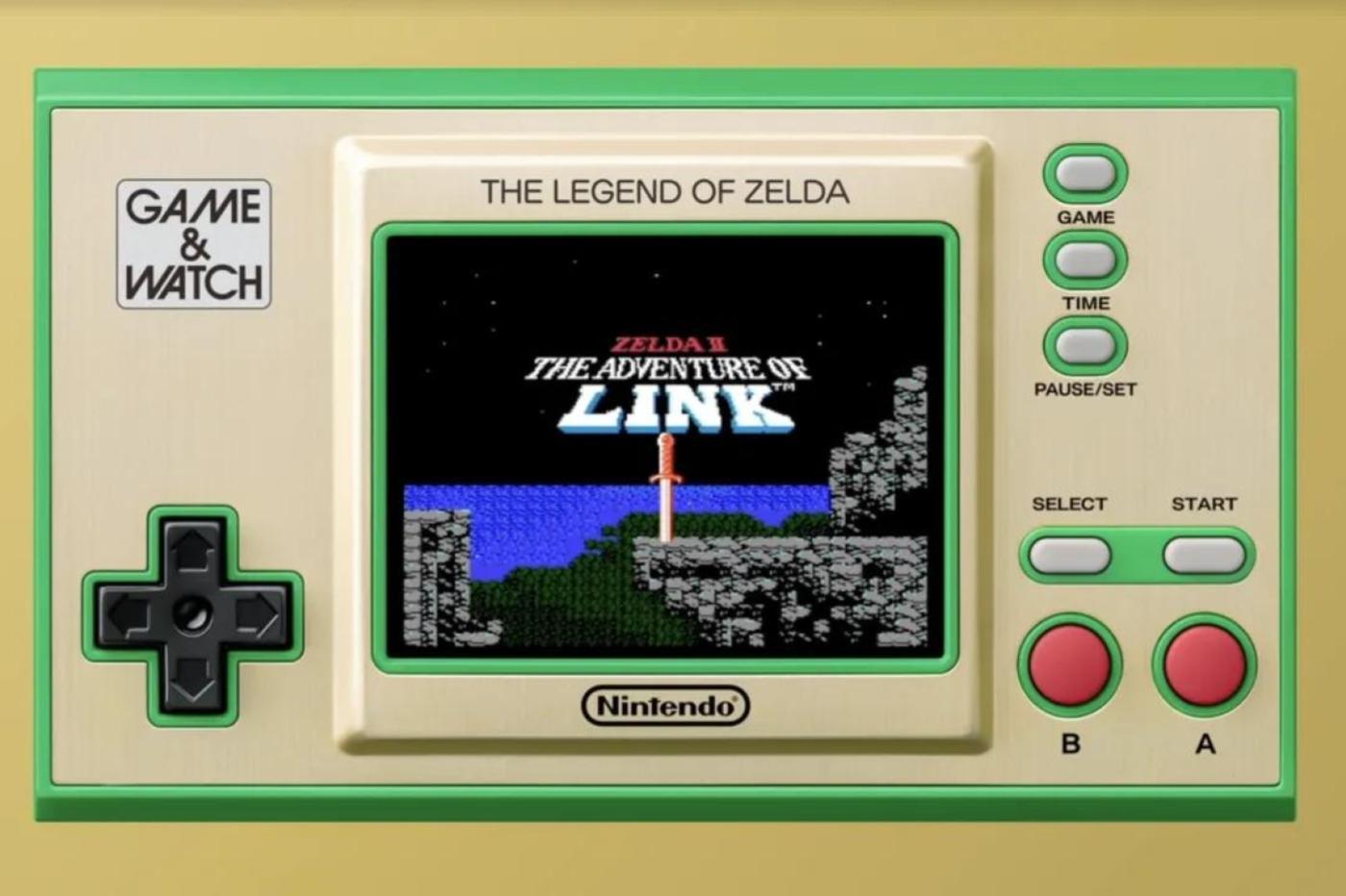 Nintendo Zelda console