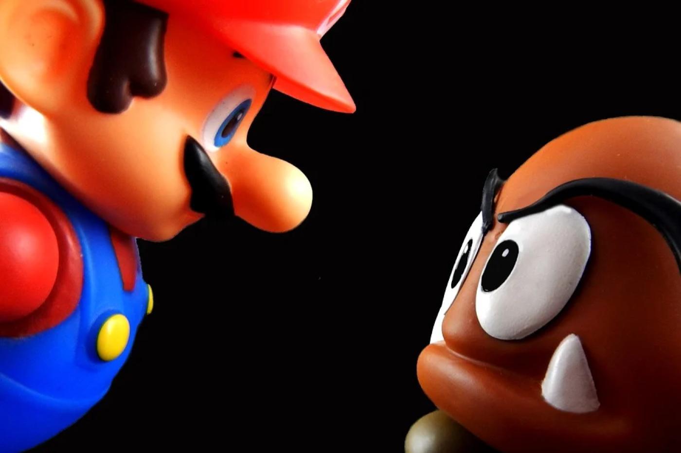 Mario vs Gomba Nintendo