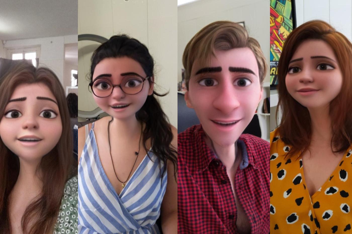 Snapchat-Disney-filtre
