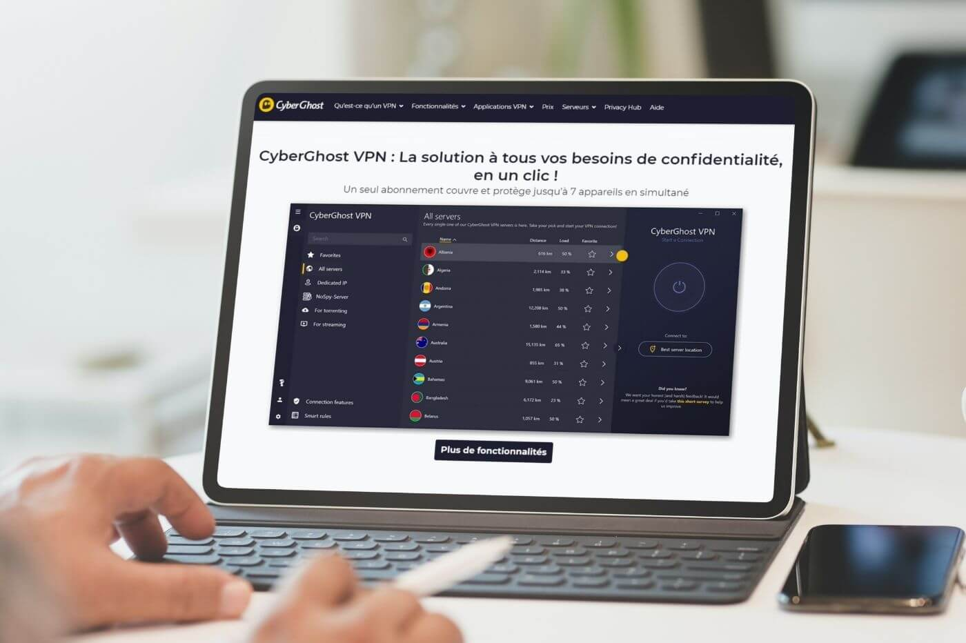 Top bons plans VPN
