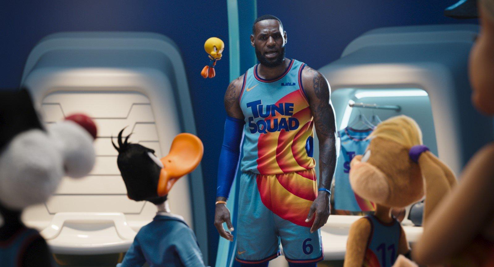 Space Jam LeBron James Equipe