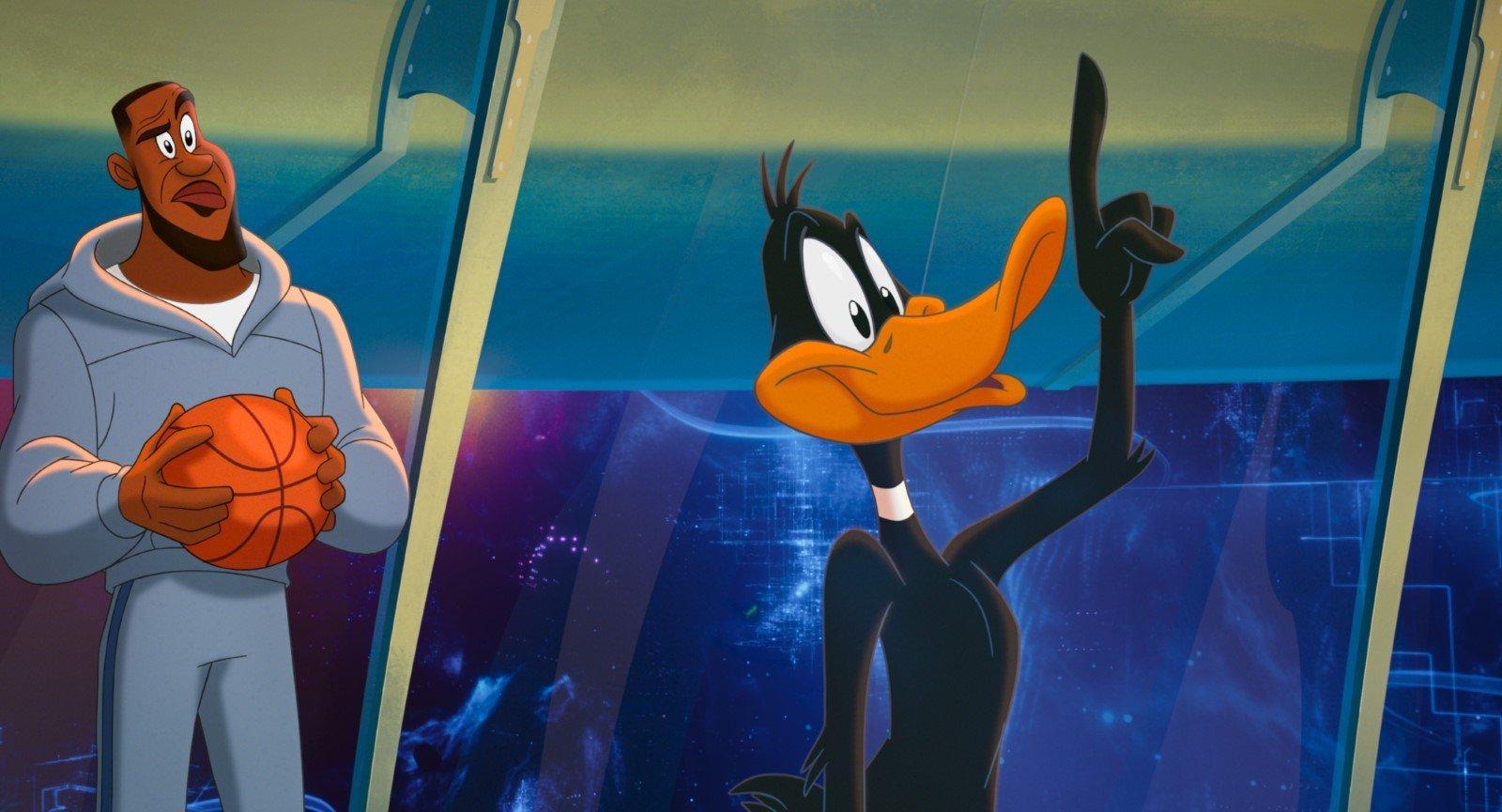 Space Jam Daffy Duck