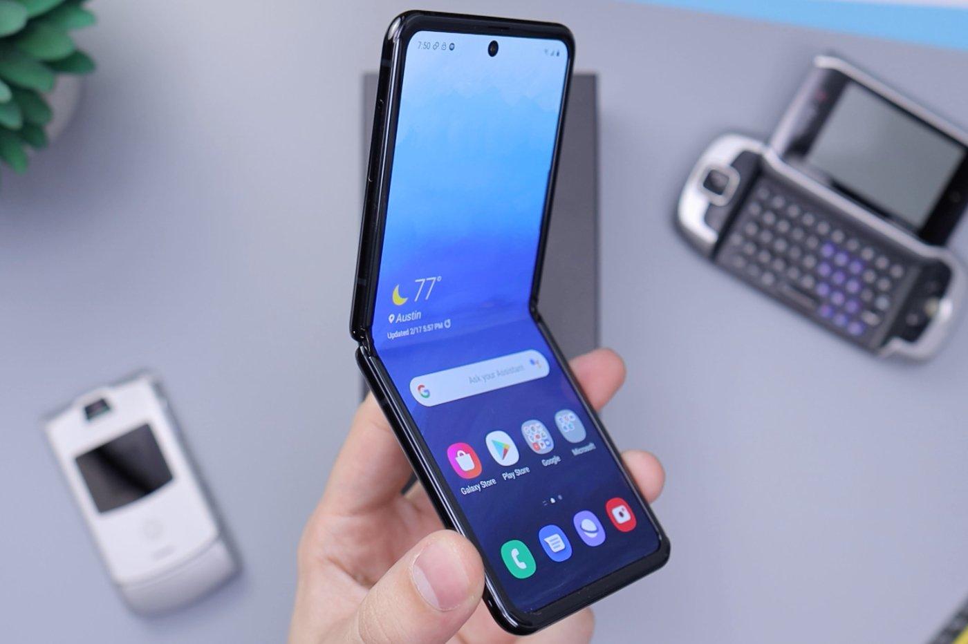 Samsung pliant
