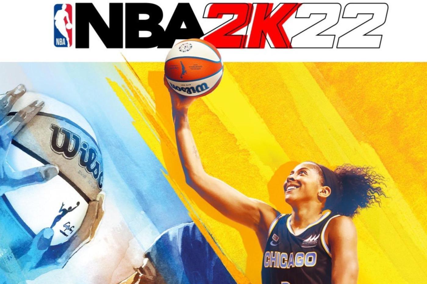 NBA 2K22 Candace Parker