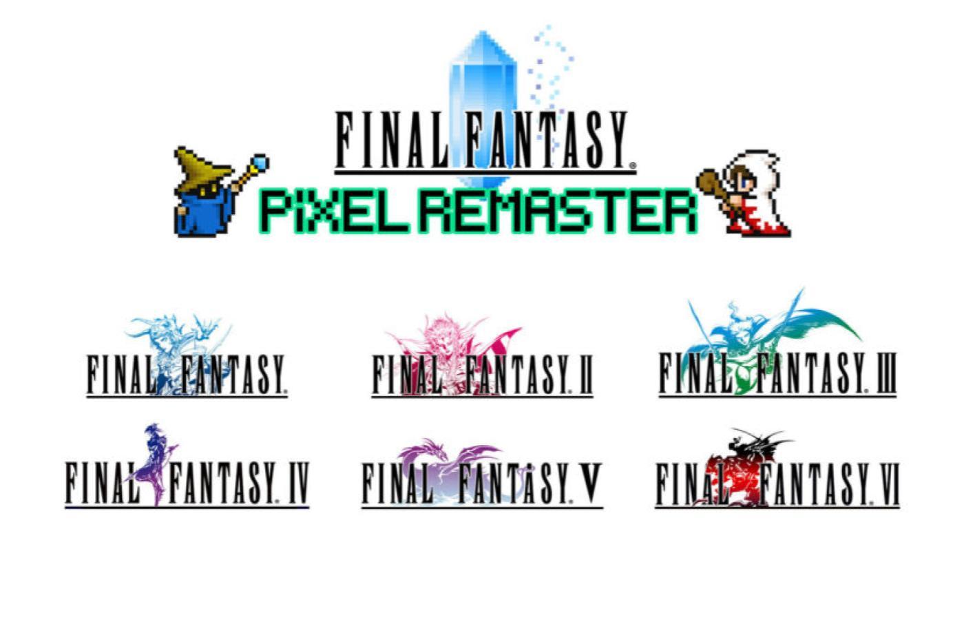 Final Fantasy Pixel Remaster Square Enix