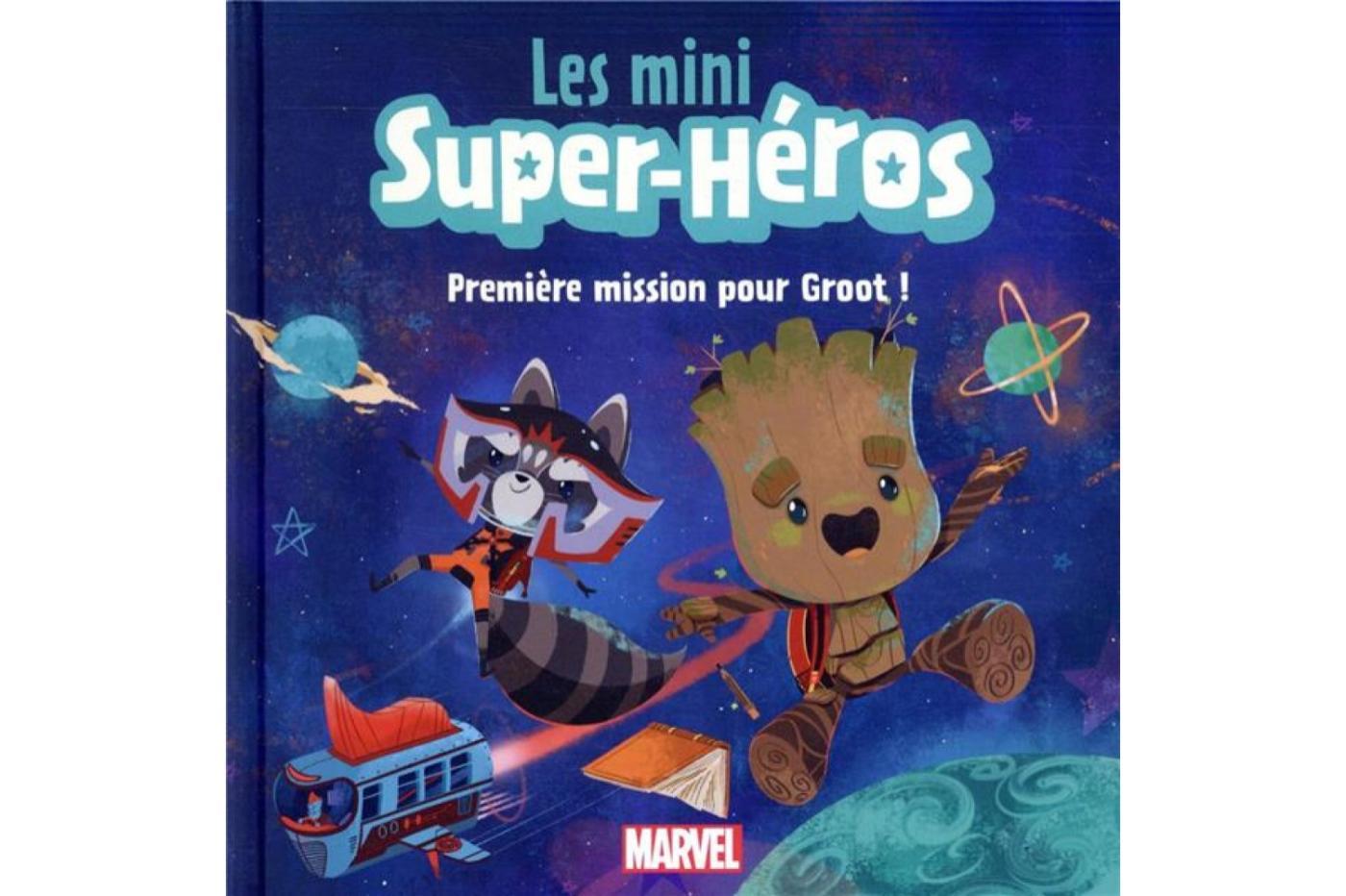 The mini superheroes groot