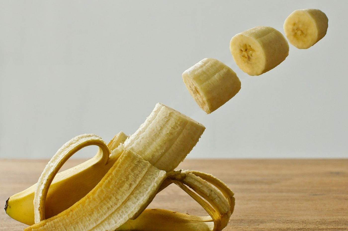 banane découpée