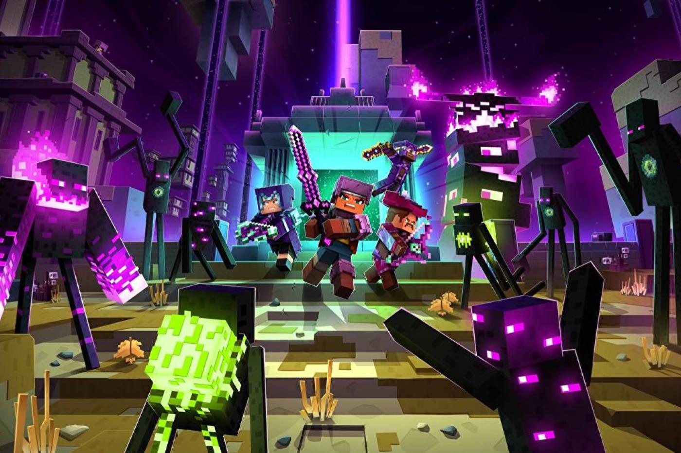 Minecraft Dungeons DLC Echoing Void