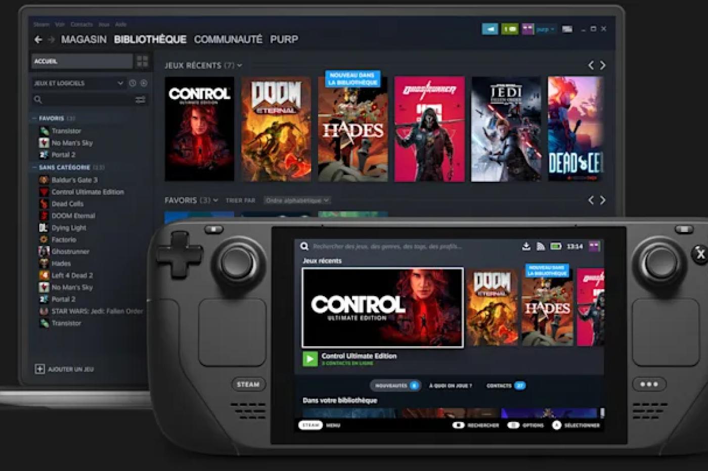 Steam : le mode TV Big Picture va laisser place au Steam Deck