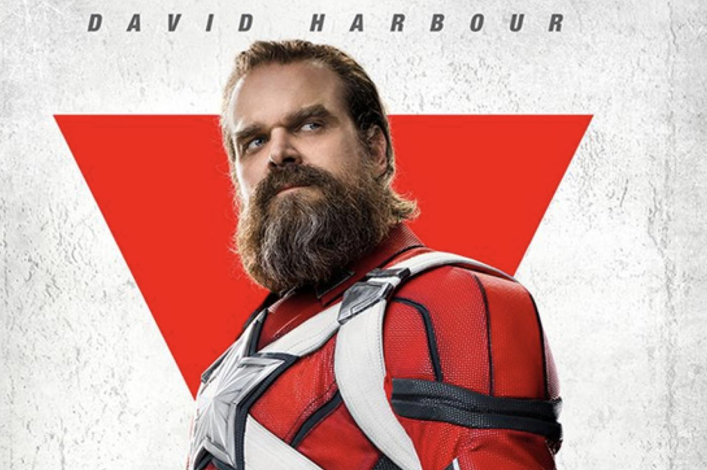 Marvel David Harbour Black Widow