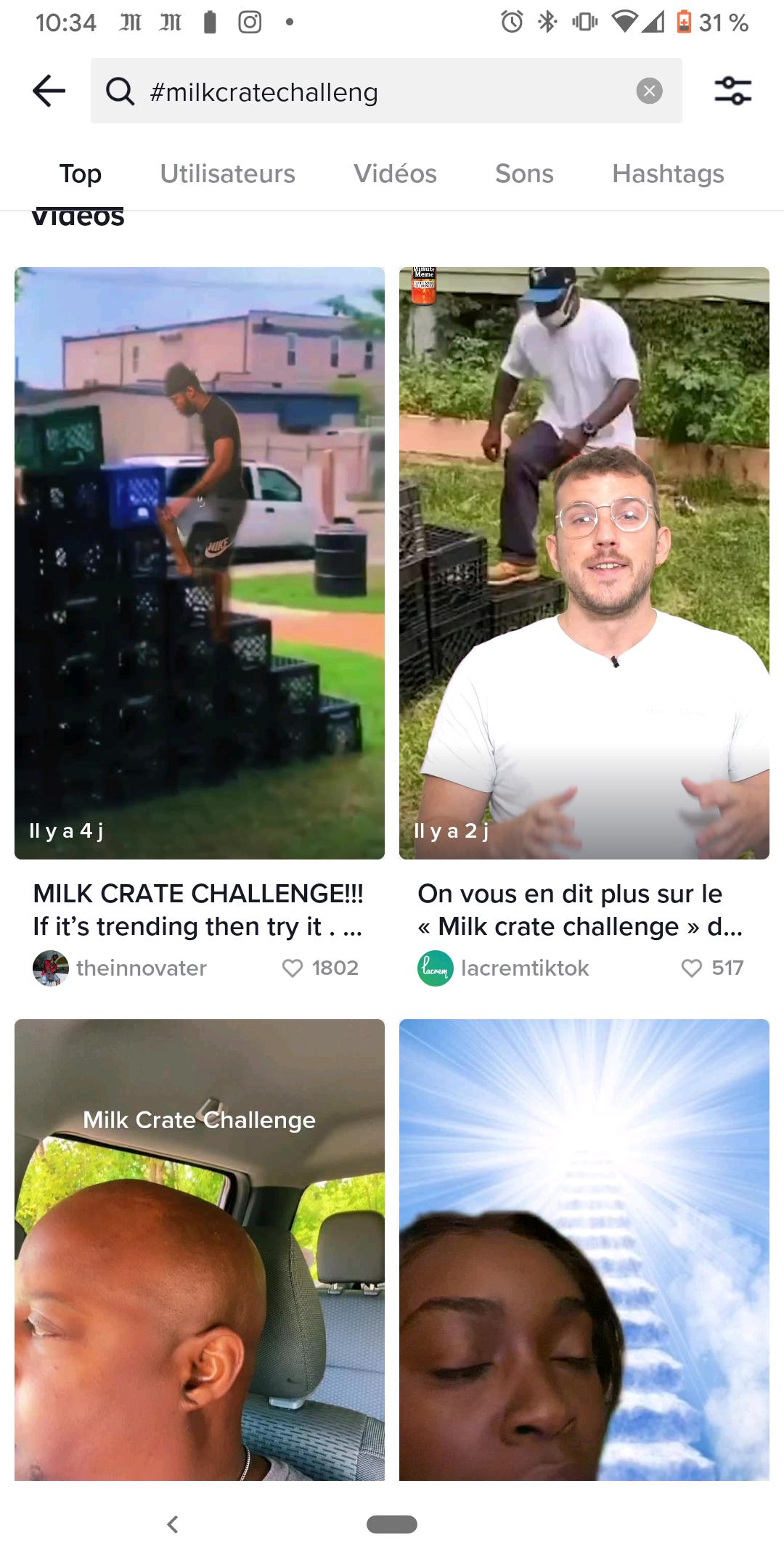 Tiktok-Milchbox-Challenge