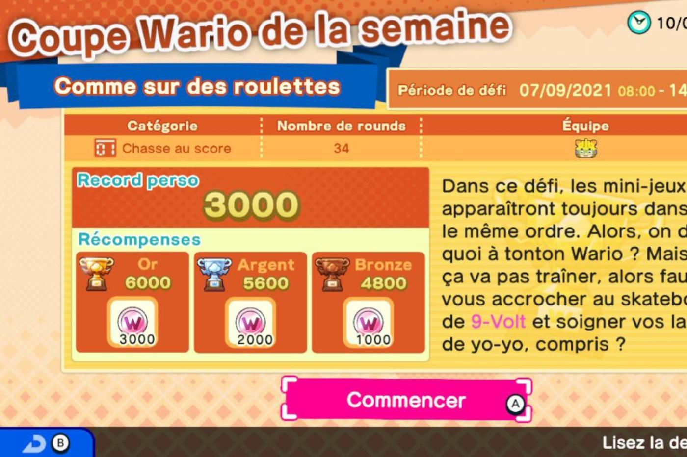 WarioWare Get it Together sur Nintendo Switch