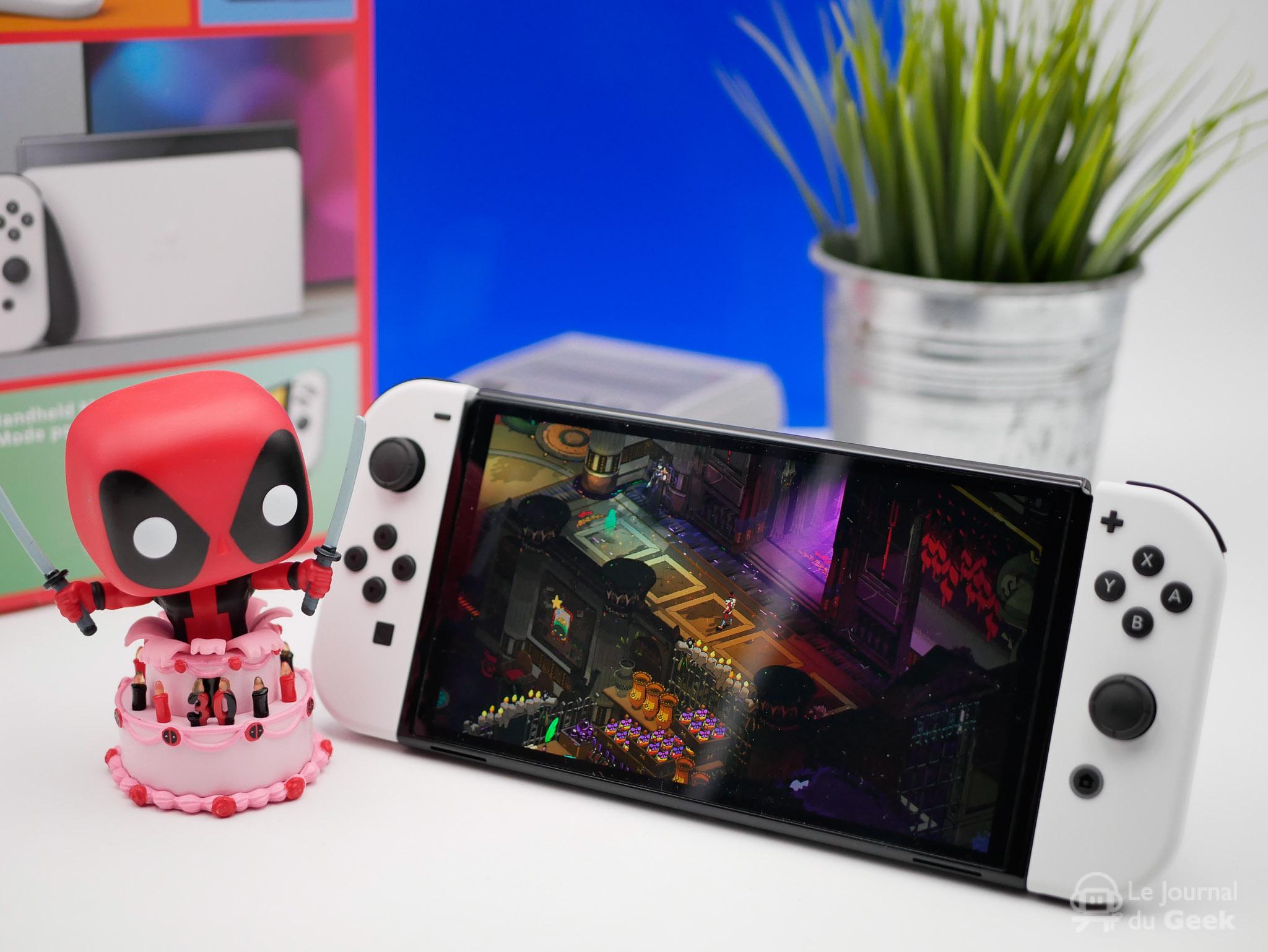 Test Nintendo Switch OLED