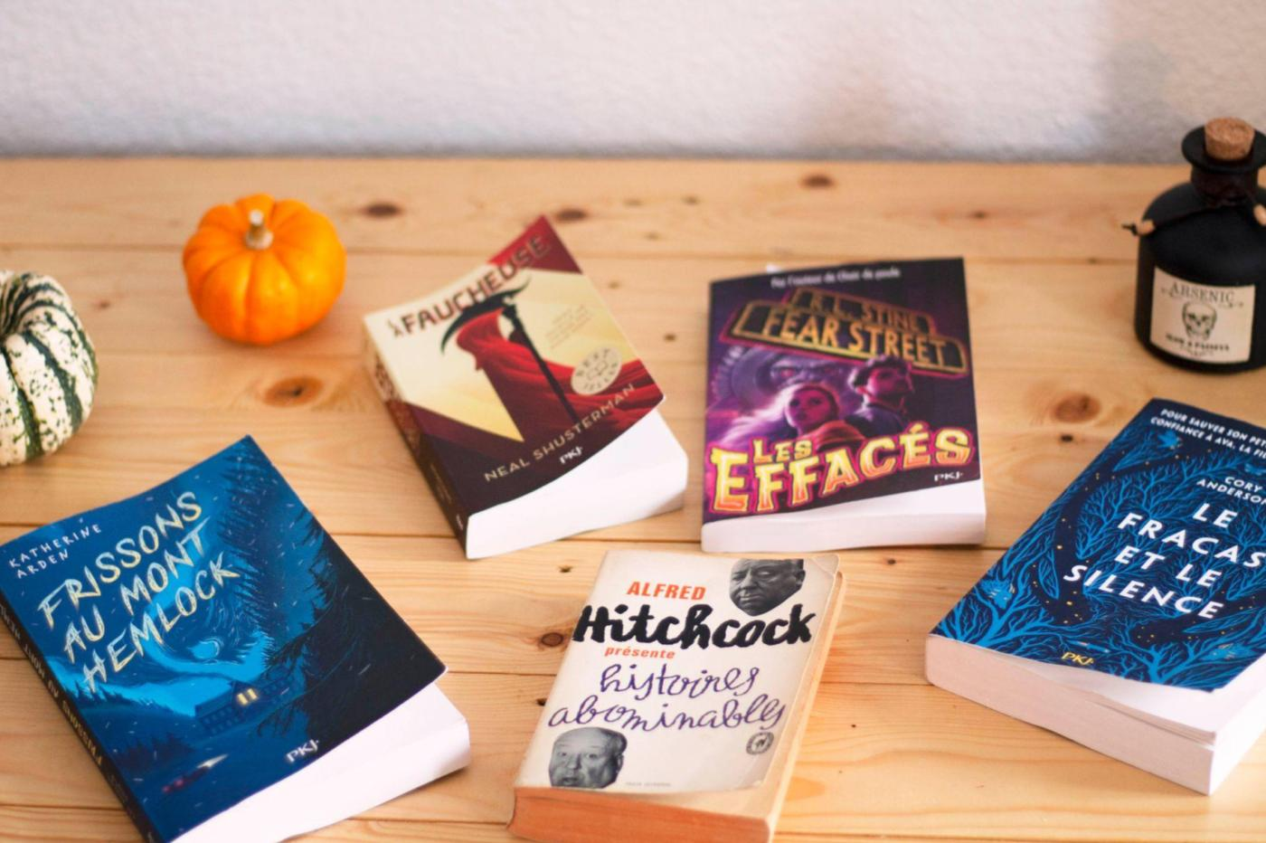 livres halloween sélection