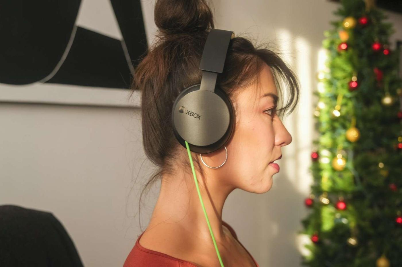 Wired xbox headset test