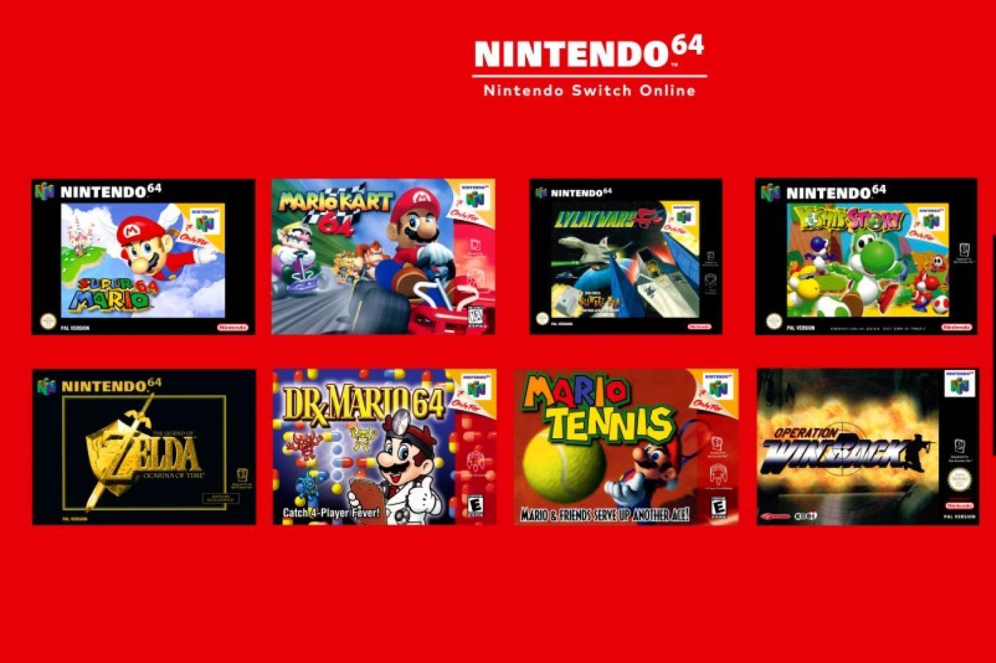 Nintendo Switch Online N64