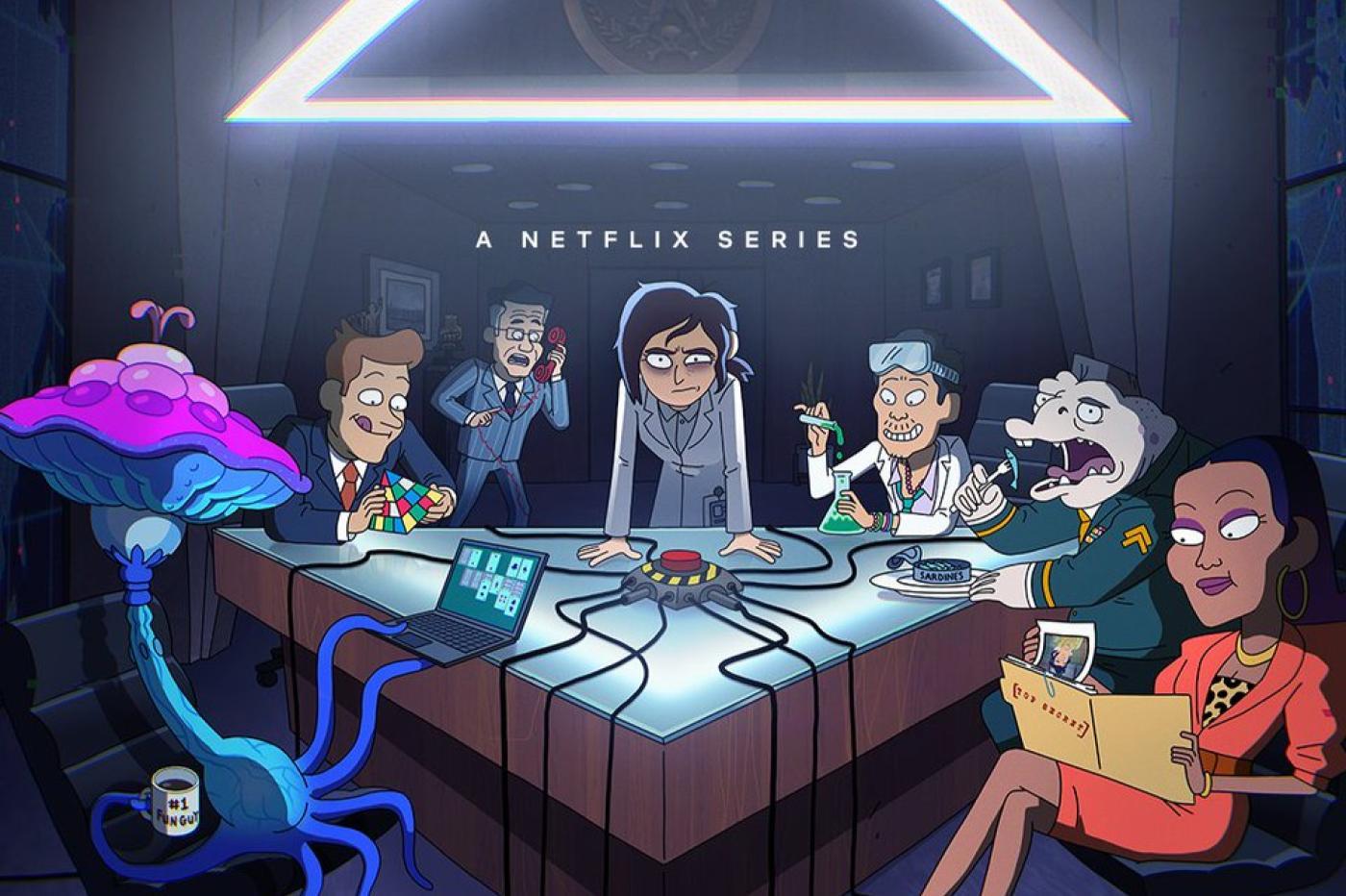 Inside Job sur Netflix affiche